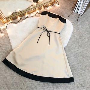 WHBM Strapless Satin Gown NWT
